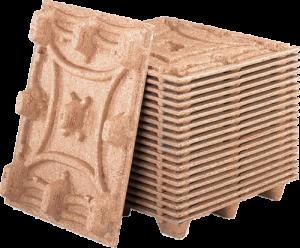 Stack of Presswood pallets